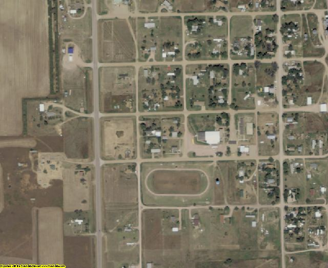Fall River County, SD aerial photography detail