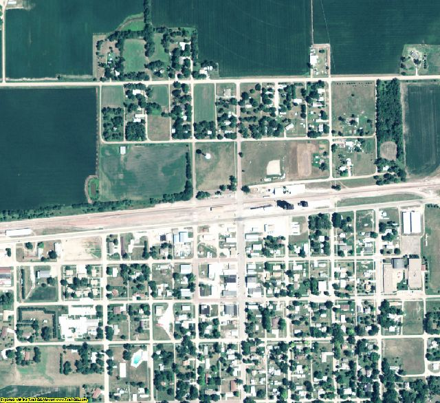 Fillmore County, NE aerial photography detail