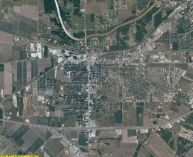 Fort Bend County, Texas aerial photography