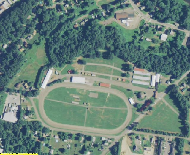 Franklin County, MA aerial photography detail