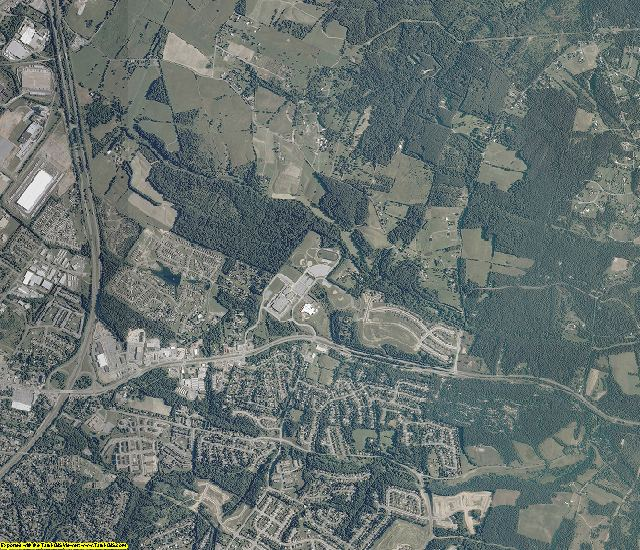Frederick County, Virginia aerial photography