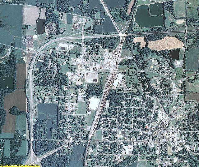 Fulton County, Kentucky aerial photography