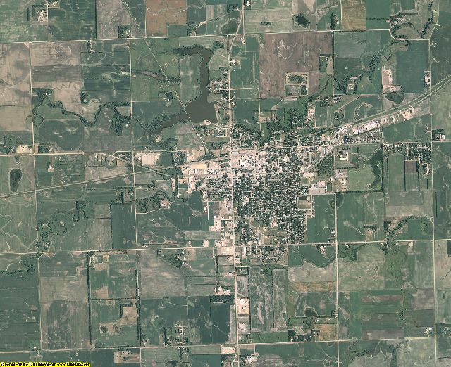Grant County, South Dakota aerial photography