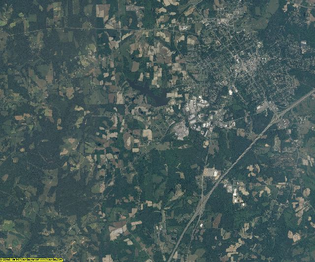 Granville County, North Carolina aerial photography