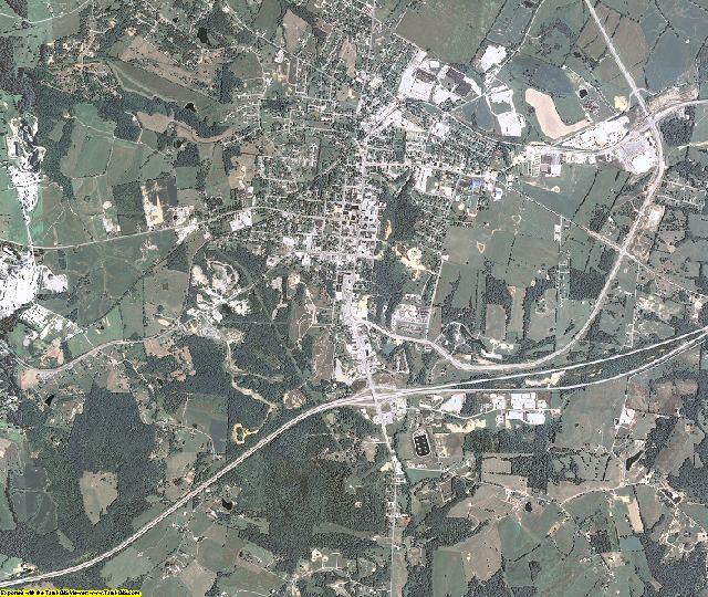Grayson County, Kentucky aerial photography