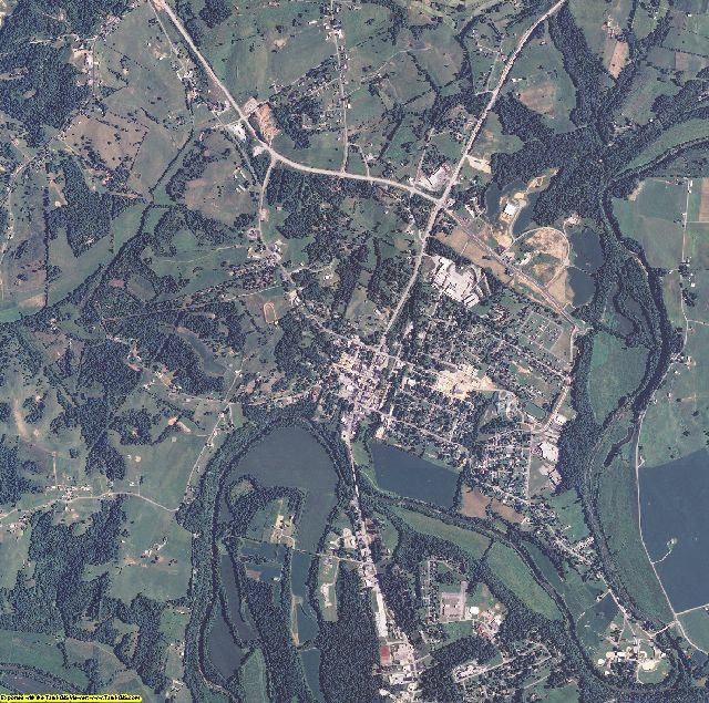 Green County, Kentucky aerial photography