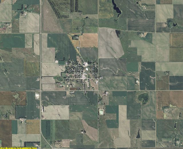Gregory County, South Dakota aerial photography