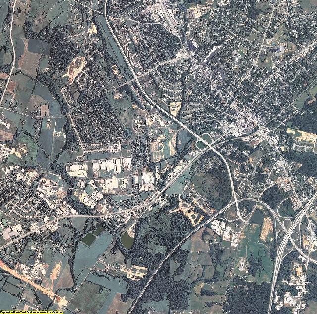 Hardin County, Kentucky aerial photography