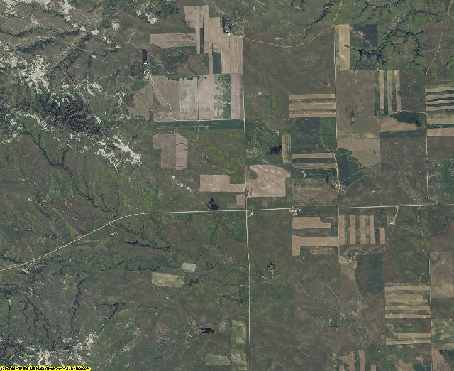 Harding County, South Dakota aerial photography