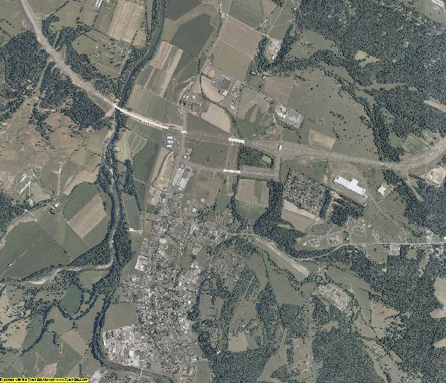 Hardy County, West Virginia aerial photography