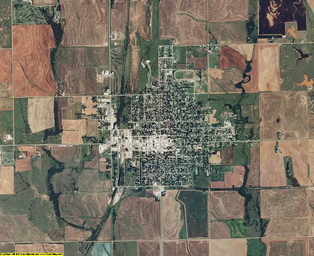 Harper County, Kansas aerial photography
