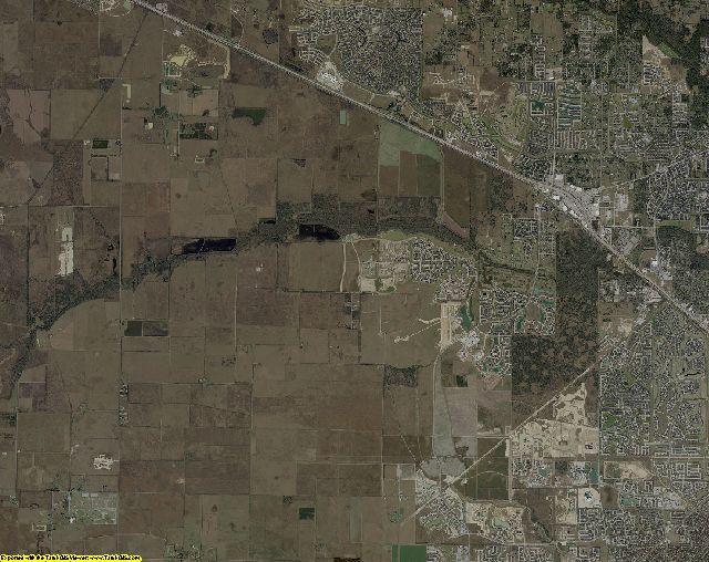 Harris County, Texas aerial photography