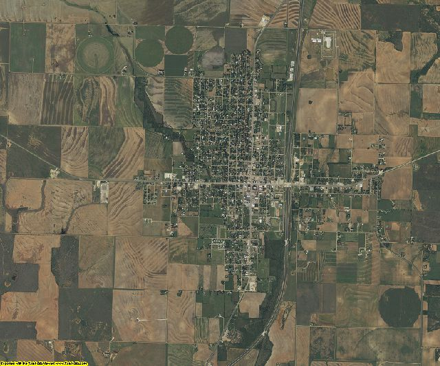 Haskell County, Texas aerial photography