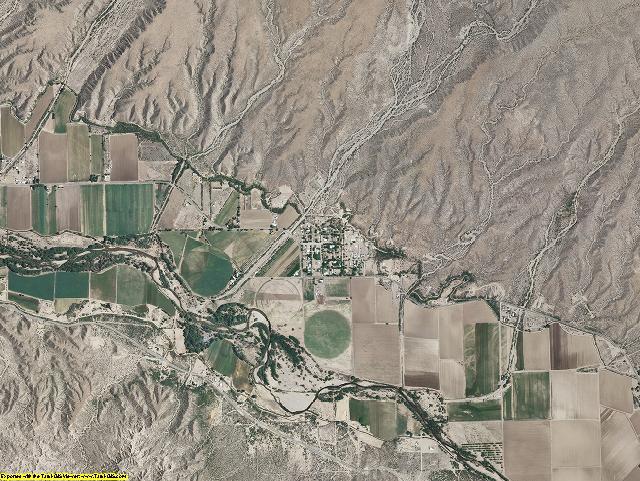 Hidalgo County, New Mexico aerial photography