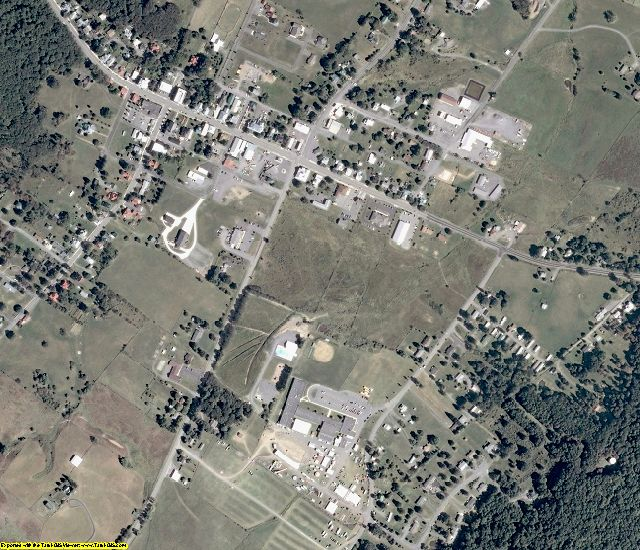 Highland County, VA aerial photography detail
