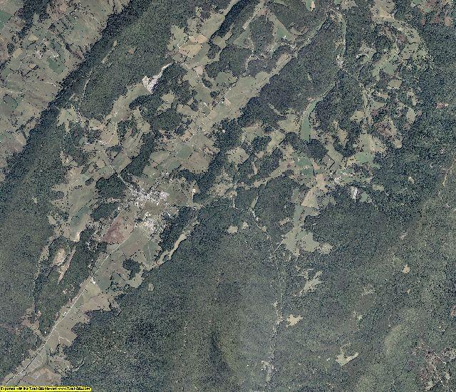 Highland County, Virginia aerial photography