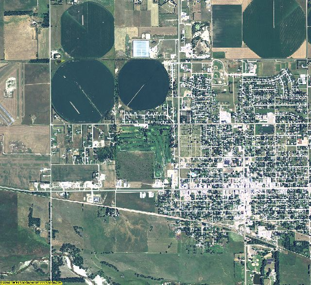 Holt County, Nebraska aerial photography