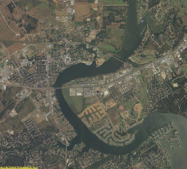 Hood County, Texas aerial photography