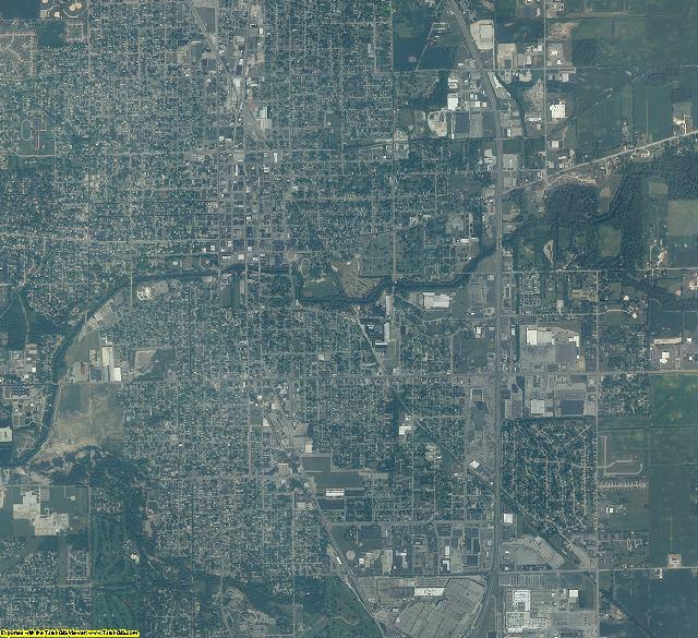 Howard County, Indiana aerial photography