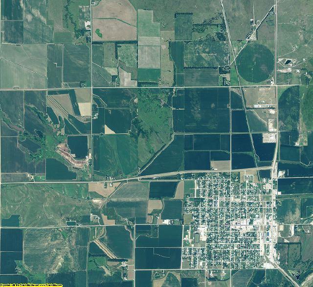 Howard County, Nebraska aerial photography