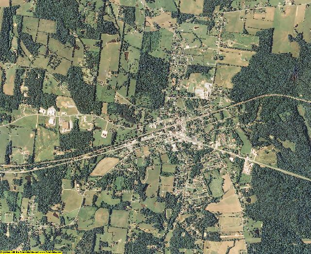 Humphreys County, Tennessee aerial photography