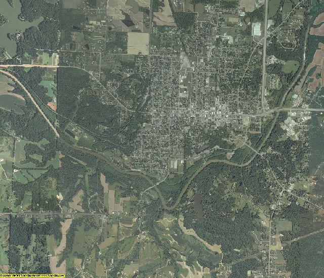 Jackson County, Illinois aerial photography