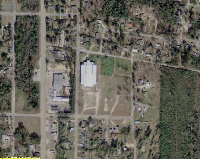 Jasper County, TX aerial photography detail