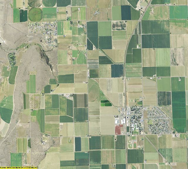 Jefferson County, Oregon aerial photography