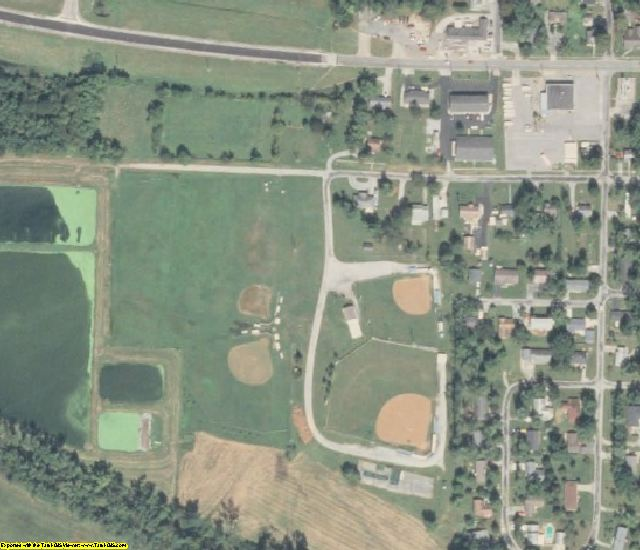 Johnson County, IL aerial photography detail