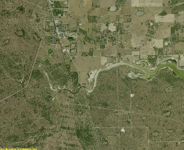 Kenedy County, Texas aerial photography