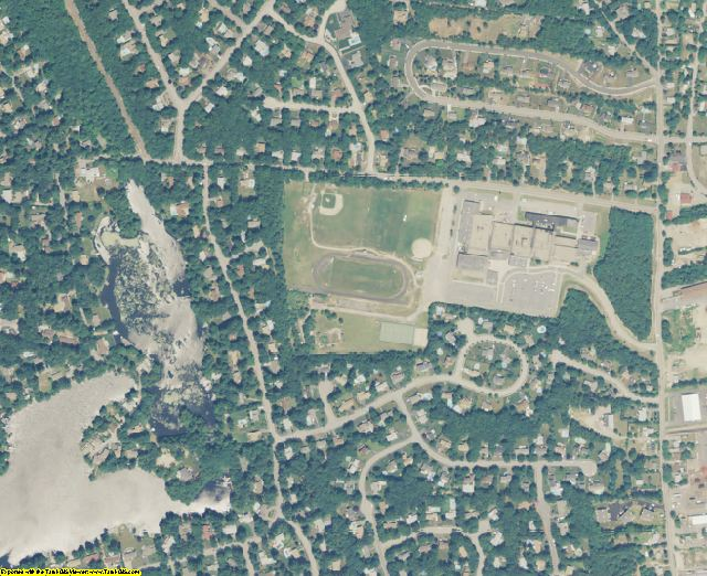 Kent County, RI aerial photography detail