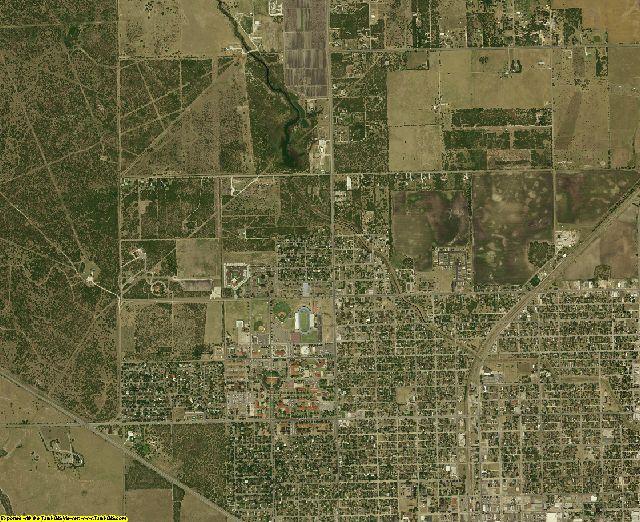 Kleberg County, Texas aerial photography