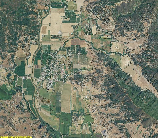 Lake County, California aerial photography