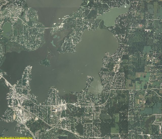 Lake County, Illinois aerial photography