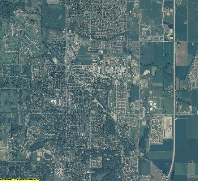 Lake County, Indiana aerial photography