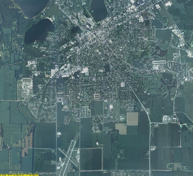 LaPorte County, Indiana aerial photography
