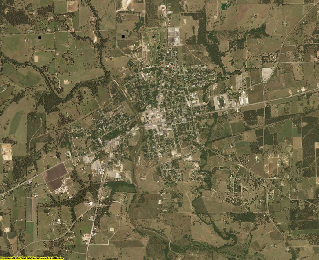 Lavaca County, Texas aerial photography