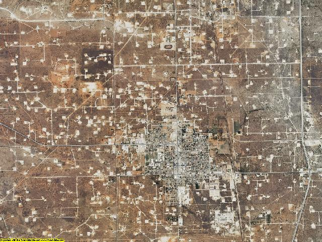 Lea County, New Mexico aerial photography