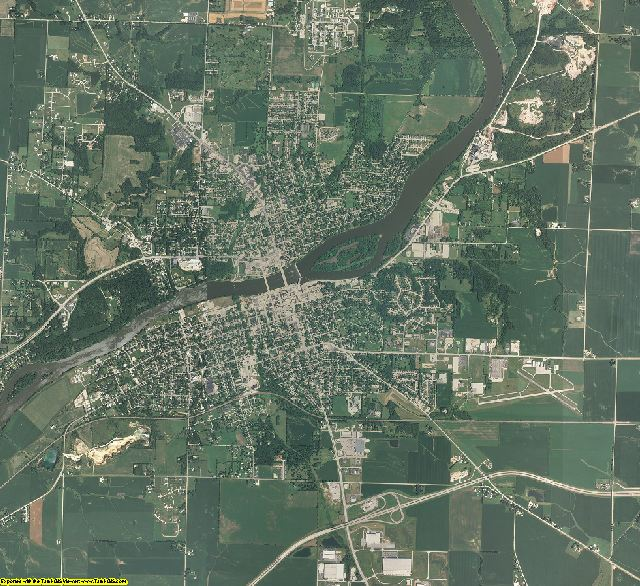 Lee County, Illinois aerial photography