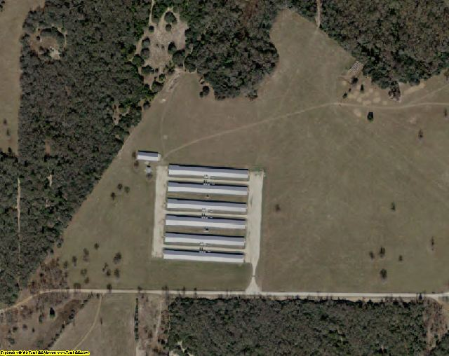 Leon County, TX aerial photography detail