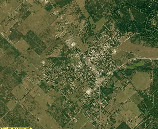 Live Oak County, Texas aerial photography