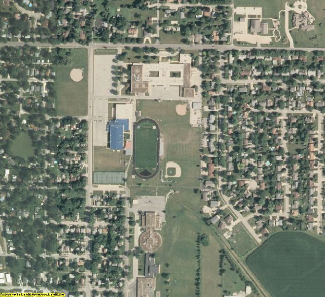 Livingston County, IL aerial photography detail