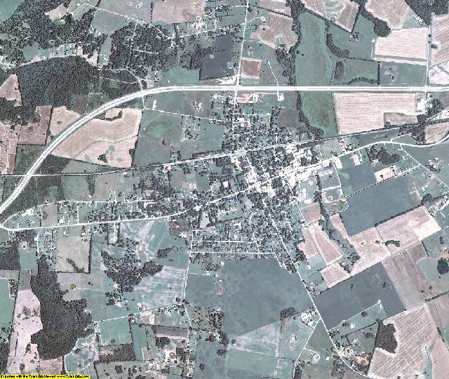 Logan County, Kentucky aerial photography