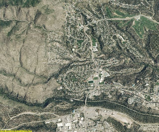 Los Alamos County, New Mexico aerial photography