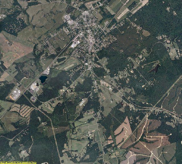 Louisa County, Virginia aerial photography