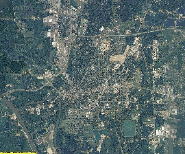 Lowndes County, Mississippi aerial photography
