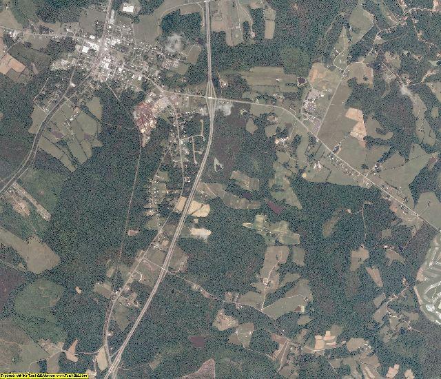 Lunenburg County, Virginia aerial photography