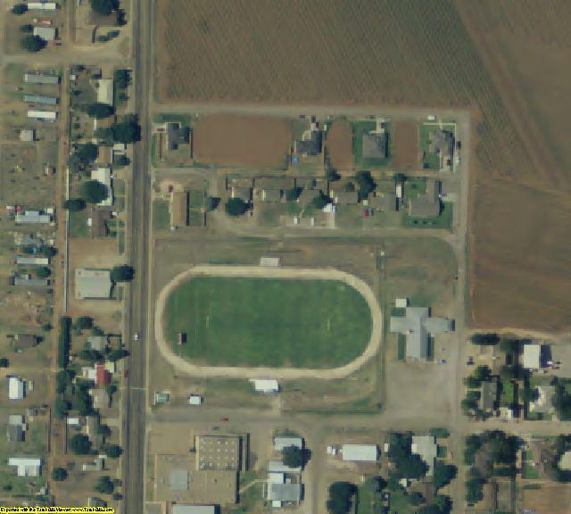 Lynn County, TX aerial photography detail