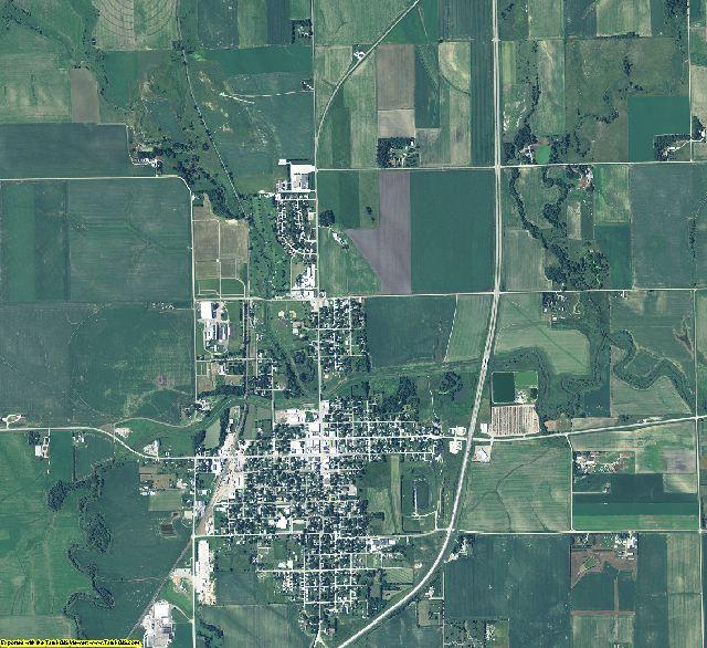 Madison County, Nebraska aerial photography