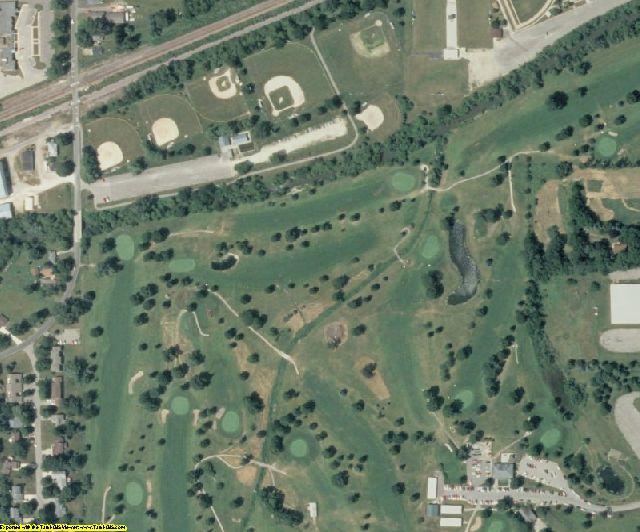 Marshall County, IA aerial photography detail